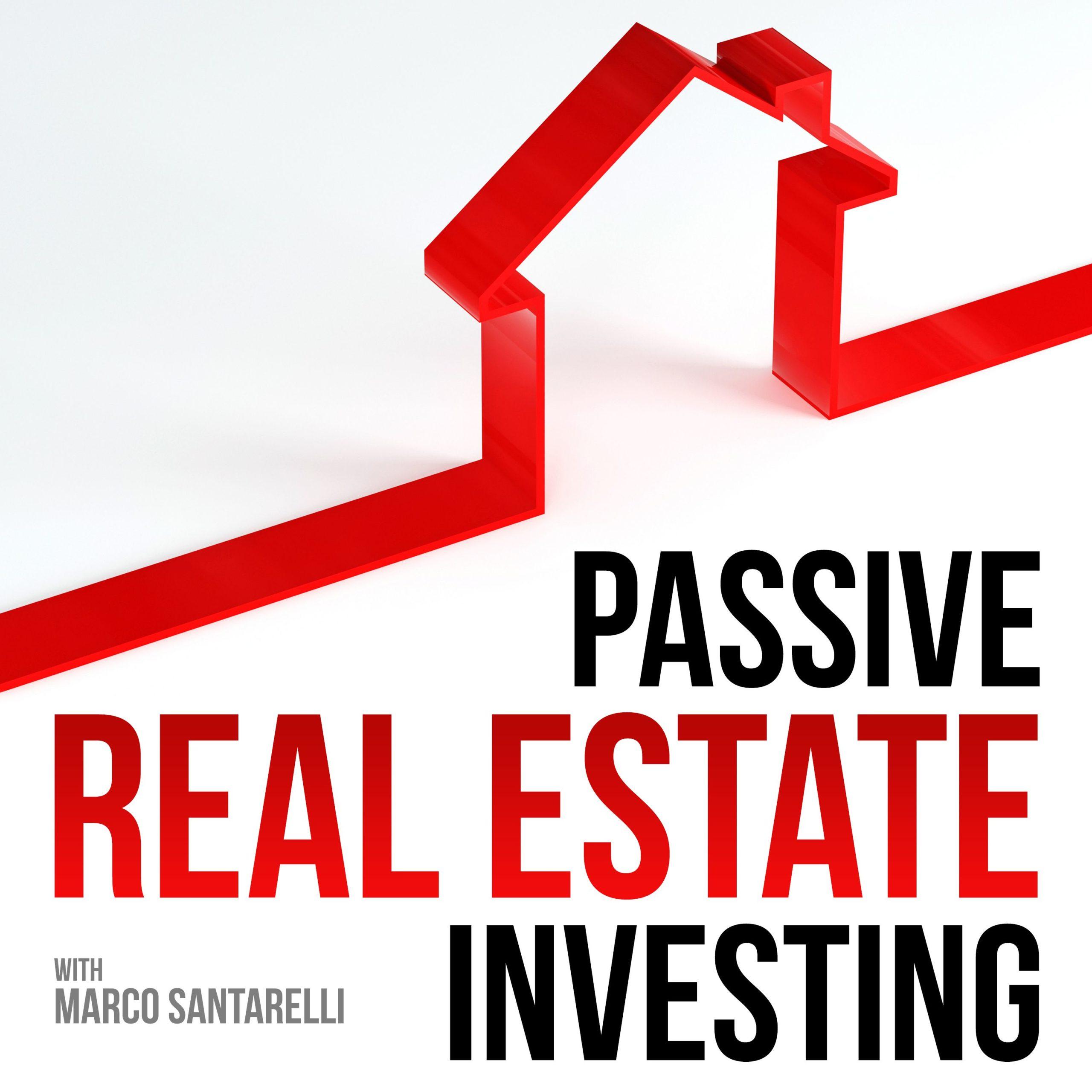 Passve Real Estate Investing Podcast Logo